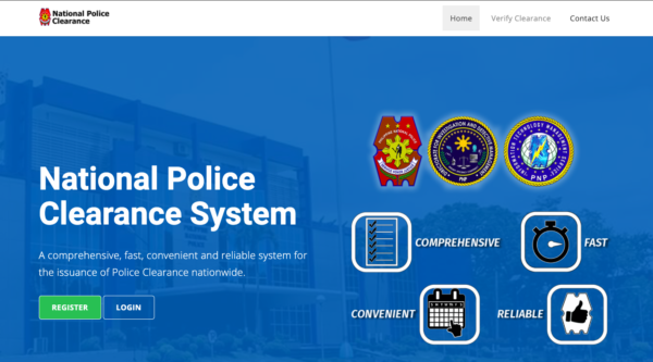 national police clearance system
