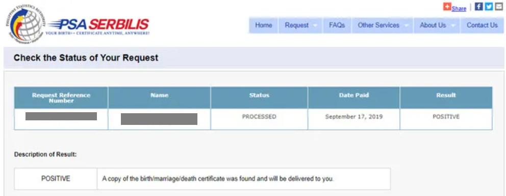 psa birth certificate psa website delivery