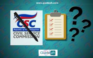 civil service examination applications requirements