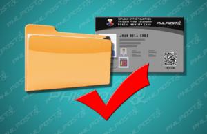 postal id procedure
