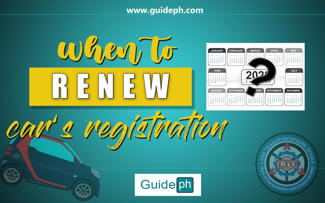 car registration renew