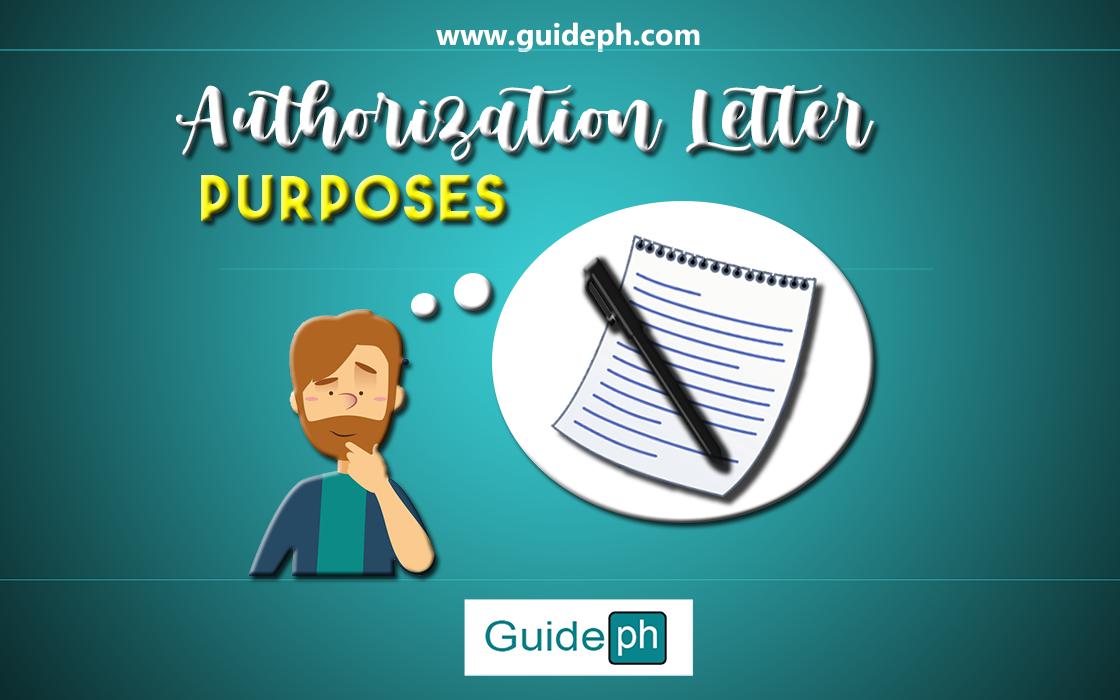 Authorization Letter Purposes