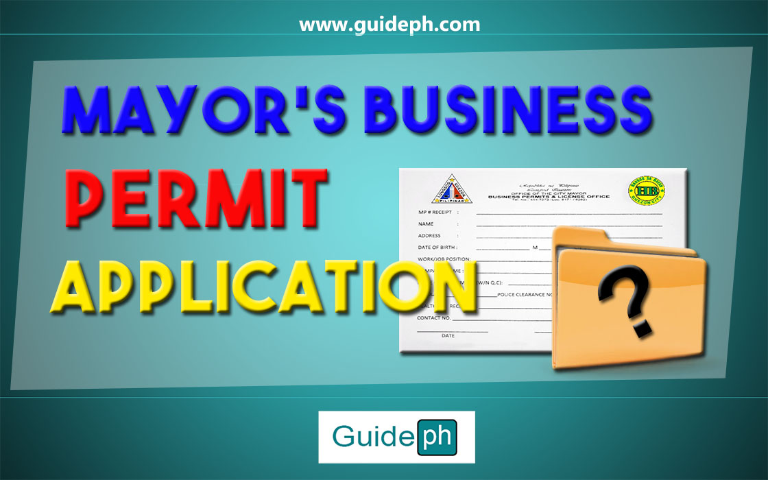 BUSINESS PERMIT APPLICATION