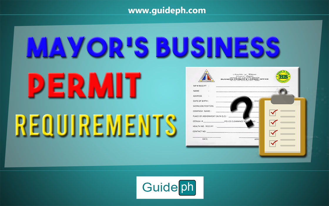 BUSINESS PERMIT REQUIREMENTS