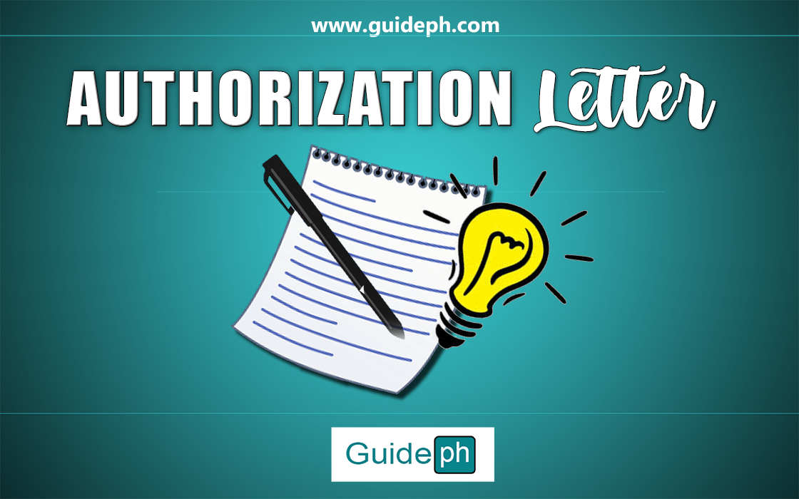 AUTORIZATION LETTER THINGS TO REMEMBER