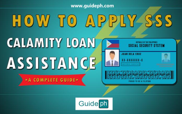 sss calamity loan assistance